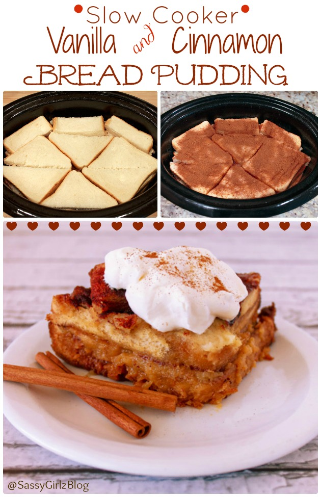 Slow Cooker Easy Bread Pudding   Sassy Girlz Blog