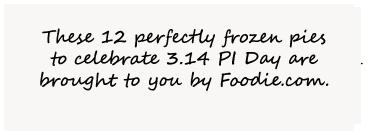 Frozen Pies Celebrate PI Day 3.14