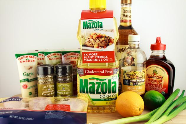 Sweet & Spicy Caribbean Chicken Legs Recipe Ingredients