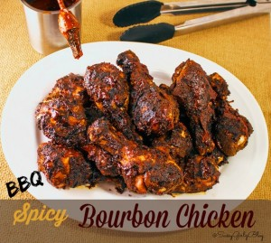 BBQ Spicy Bourbon Chicken | Sassy Girlz Blog
