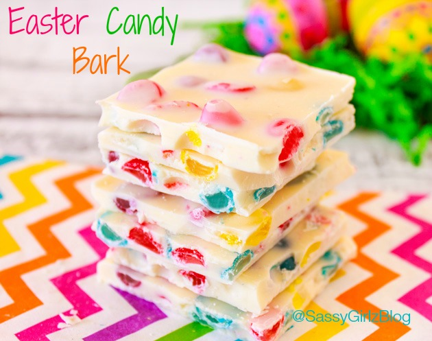 Easy Easter Candy Bark | Sassy Girlz Blog