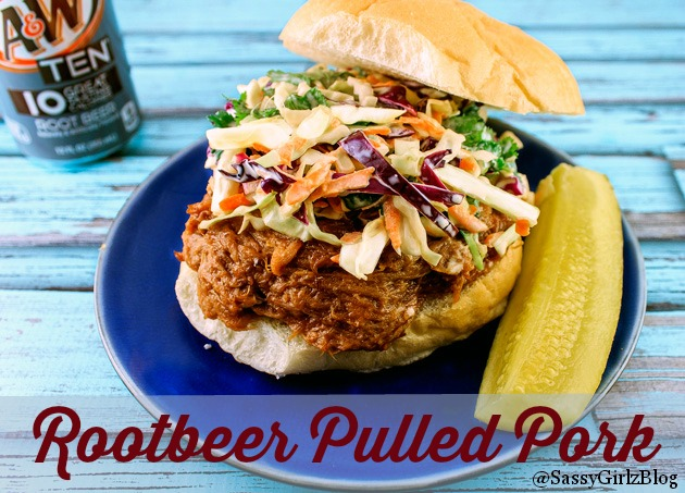 Root Beer Crockpot Pulled Pork | Sassy Girlz Blog