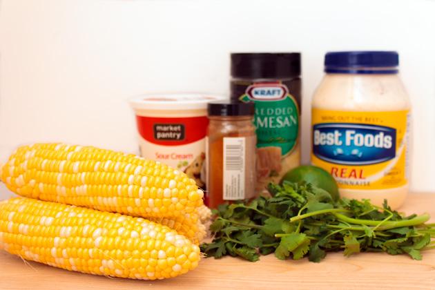 Mexican Street Corn Ingredients | Sassy Girlz Blog