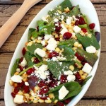 Tart & Tangy Spinach Salad A Perfect Summer Salad!