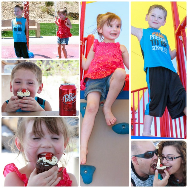 Dr Pepper Cupcake Backyard Bash
