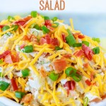 Loaded Baked Potato Salad Recipe Made Easy – And, BACON!