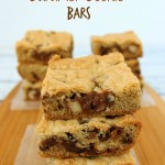 Twix Caramel & Chocolate Cookie Bars Recipe