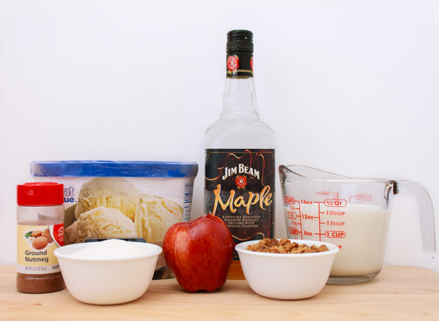 Dutch Apple Pie Boozy Milkshake Ingredients