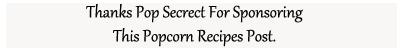 popcorn recipes sponsored disclosure