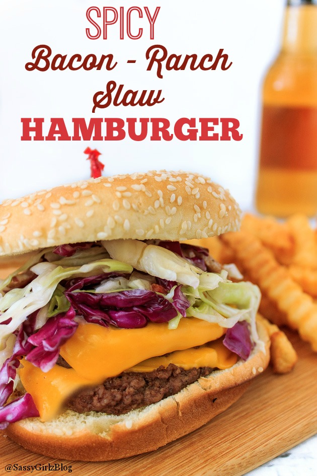 Zest Up Your 'Burger - Spicy Bacon Ranch Slaw Recipe