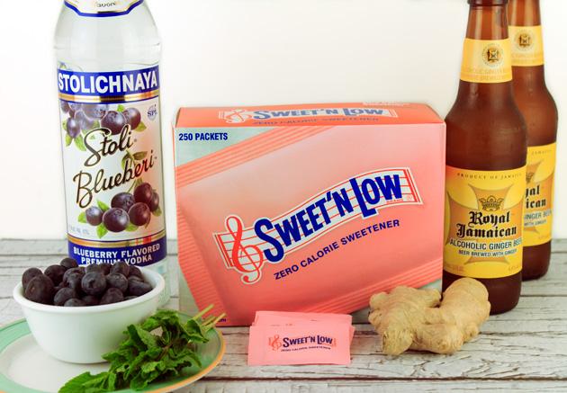 Lemon Ginger Mojito Recipe Ingredients