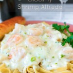 Creamy Shrimp Alfredo With Crab – Seafood Pasta Recipe