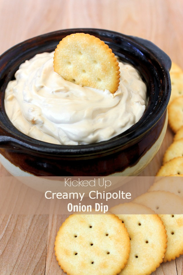 Creamy Chipotle Onion Dip Recipe – 4 Ingredients 5 Minutes