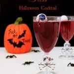 Vampire Kiss Halloween Cocktails Recipe