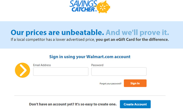 Your walmart one account related keywords amp suggestions your walmart
