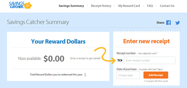Try walmart savings catcher and share the buzz by spreading the word