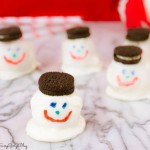 Melty Snowman Cookie Balls Recipe