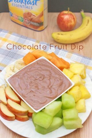 Chocolate Fruit Dip Recipe | Sassy Girlz Blog