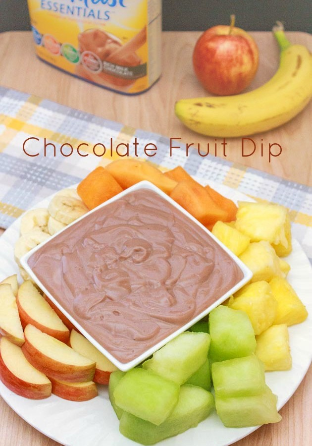 how to make chocolate dipping sauce for fruit