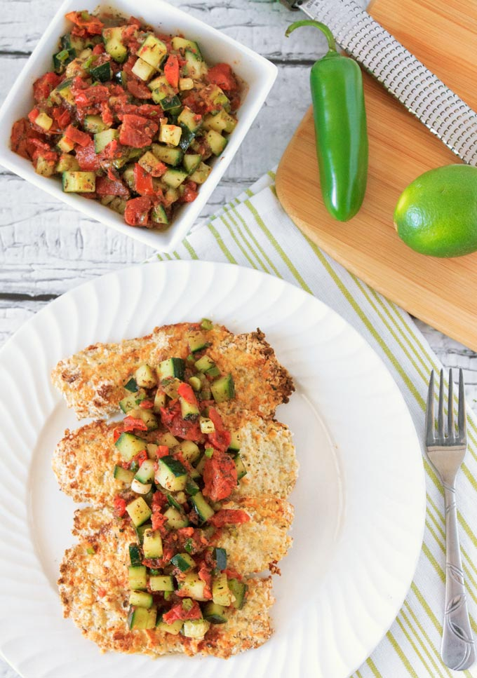 Pank Crusted Tilapia with Spicy Tomato Cucumber Salsa | Sassy Girlz Blog