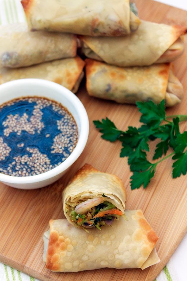 Baked Shrimp Eggrolls Recipe | Sassy Girlz Blog